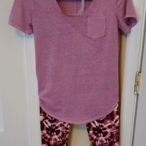 CAPRIS LEGGINGS w TEE GREAT SPRING/SUMMER OUTFIT